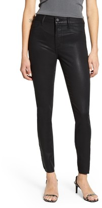 Articles of Society Hilary High Waist Coated Skinny Jeans