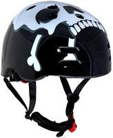 Sport Direct Skull And Cross Bones BMX Helmet - 55-58 Cms