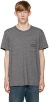 MAISON KITSUNÉ Grey Army T-Shirt