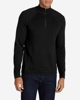Eddie Bauer Men's Catalyst VILOFT/Cashmere 1/4-ZIp Sweater