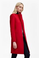 French Connection Platform Felt Wool Coat