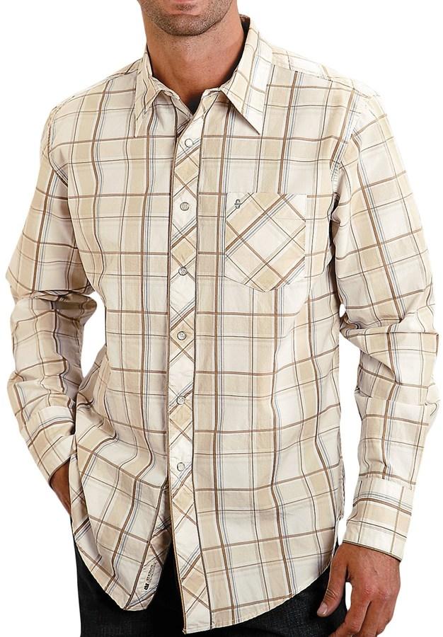 Stetson Dune Plaid Shirt (For Men)