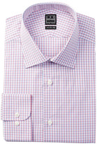 Ike Behar Long Sleeve Check Dress Shirt