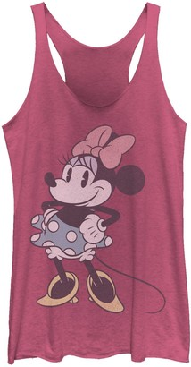 Licensed Character Juniors' Disney Mickey Minnie Posing Tank