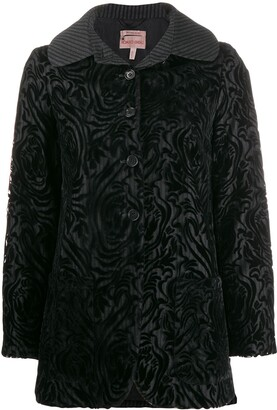 Romeo Gigli Pre-Owned 1997 brocade buttoned jacket