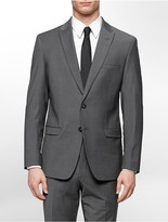 Calvin Klein X Fit Ultra Slim Fit Grey Suit Jacket