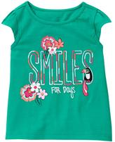 Gymboree Smile Swing Tee