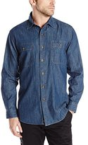 Dickies Men's Long-Sleeve Denim Shirt