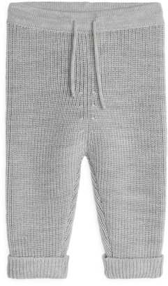 Arket Knitted Wool Trousers