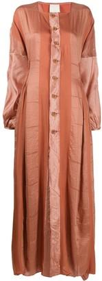 PHAEDO STUDIOS Front Buttoned Maxi Dress