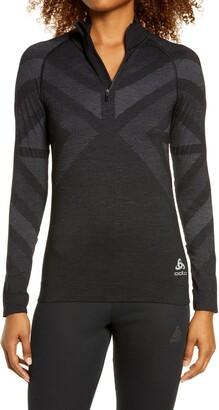 Odlo Blackcomb Mock Neck Half Zip Pullover
