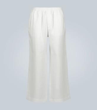 COMMAS Linen wide-leg pants