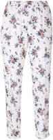 MSGM floral trousers