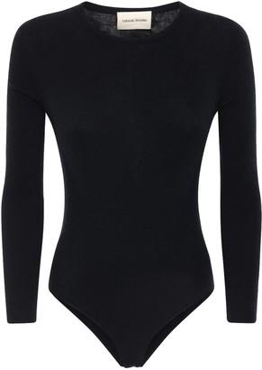 LOULOU STUDIO Pietra Cashmere Bodysuit