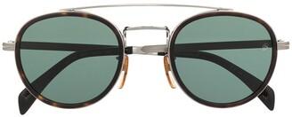 David Beckham Round Frame Sunglasses