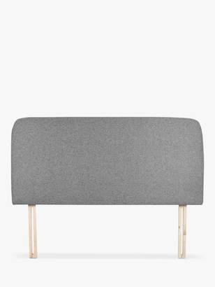 House by John Lewis Bonn Upholstered Headboard, Double, Saga Grey