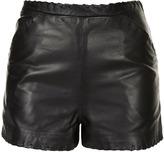 Premium Leather Shorts