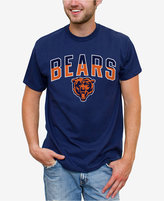 Junk Food Clothing Men's Chicago Bears Split Arch T-Shirt