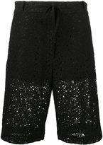 6397 floral long shorts - women - Cotton/Nylon - XS