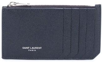 Saint Laurent Zipped Coin Purse