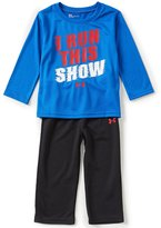 Under Armour Baby Boys 12-24 Months I Run This Show Tee & Pants Set