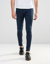 Cheap Monday Mid Spray Jeans Dawning Blue