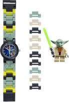 Lego Star Wars Yoda Kids Watch with Mini Figure