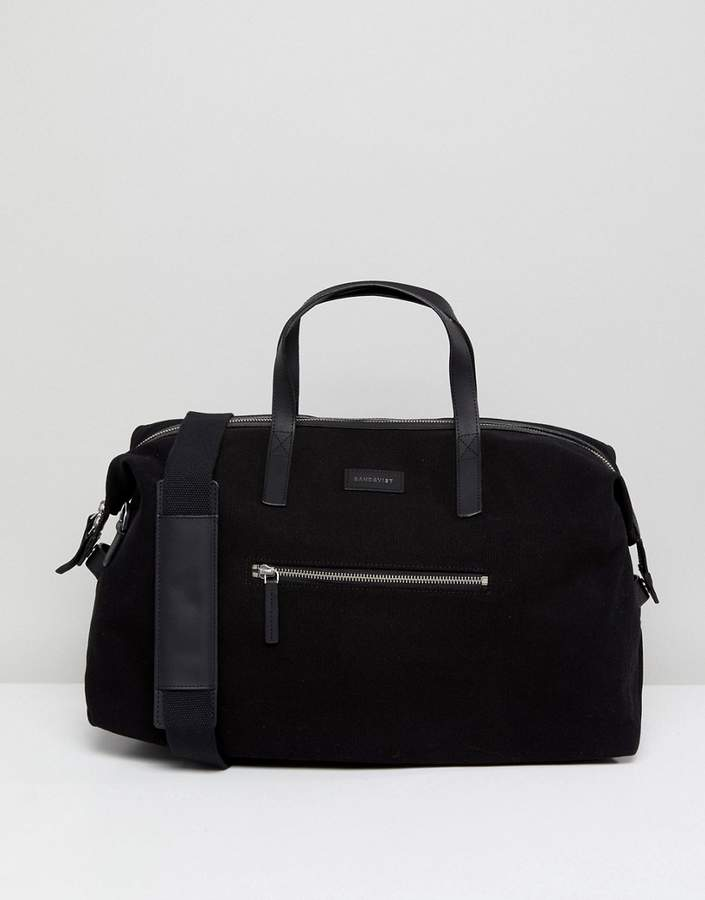 SANDQVIST Holly Weekend Bag With Leather Trims