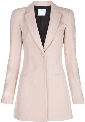 Area blazer-style mini dress