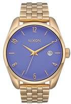 Nixon Women's 'Bullet' Guilloche Dial Bracelet Watch, 38Mm