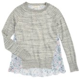 Tucker + Tate Girl's Pullover Sweater