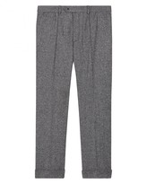 Jaeger Salt-and-Pepper Slim Trousers