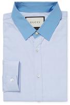 Gucci Cotton Spread Collar Dress Shirt