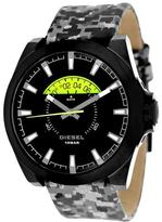 Diesel DZ1658 Men's Arges Black & Grey Leather Watch