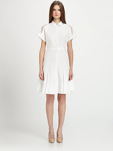 Prabal Gurung Button-Down Dress