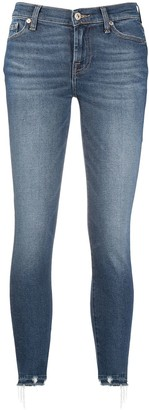 7 For All Mankind Faded Denim Jeans