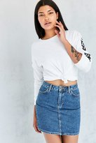 BDG Pencil Denim Mini Skirt