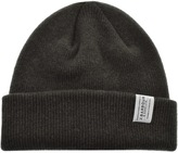 Barbour Lambswool Beanie Hat Green