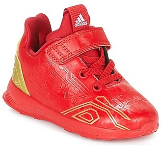 adidas RAPIDARUN AVENGERS C girls's Shoes (Trainers) in Red