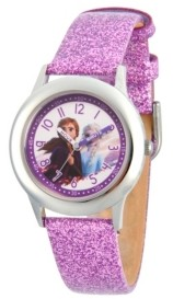 EWatchFactory Disney Frozen 2 Elsa, Anna Girls' Stainless Steel Watch 32mm