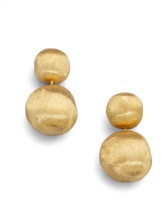 Marco Bicego Africa 18K Yellow Gold Ball Drop Earrings