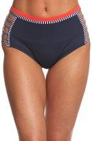 Tommy Hilfiger Strappy Stripes High Waist Bikini Bottom 8154031