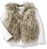 Old Navy Faux-Fur Vest for Toddler
