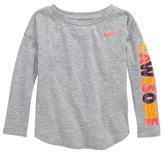 Nike Toddler Girl's Awesome Modern Tee
