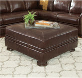 Signature Design by Ashley Banner Oversized Accent Ottoman
