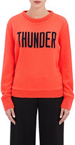 "The Elder Statesman X NBA Women's ""Thunder"" Cashmere Sweater"
