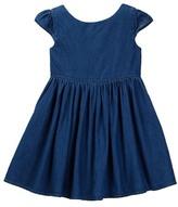 Joe Fresh Girly Denim Dress (Toddler & Little Girls)