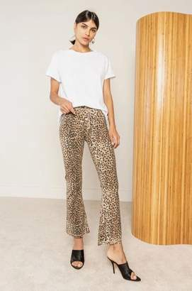 Ragdoll LA LEOPARD CROP LEGGINGS Brown Leopard