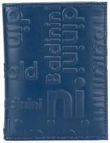 Baldinini embossed logo cardholder - unisex - Leather - One Size