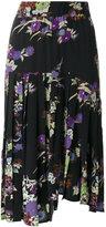 Isabel Marant floral print Inaya skirt - women - Silk - 36
